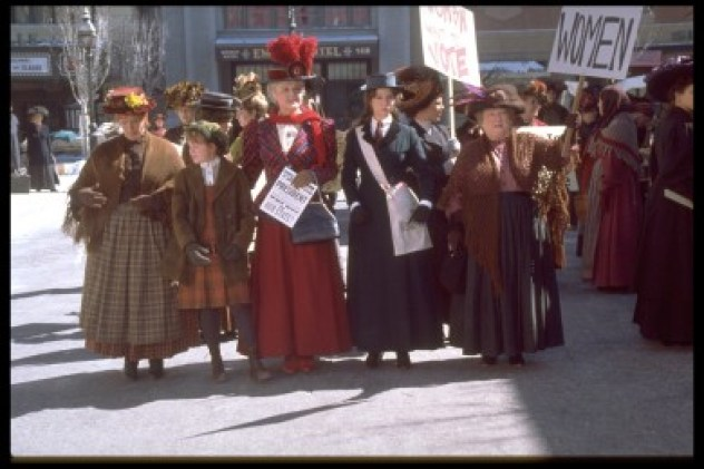 4 Suffragette March