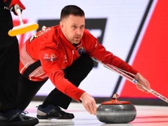 Team Newfoundland/Labrador's Brad Gushue
