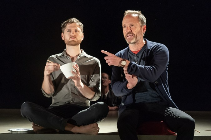 Kyle Soller and John Benjamin Hickey by Marc Brenner