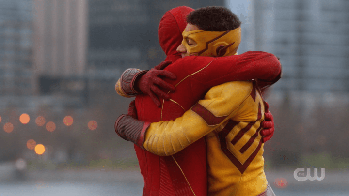 The Flash - Season 6, Episode 14 - Death of the Speed Force - Wally & Barry