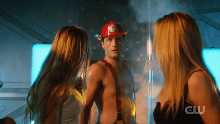 Legends of Tomorrow - Season 5, Episode 7 - Romeo v Juliet Dawn of Justness - Sexy Fireman Stripper