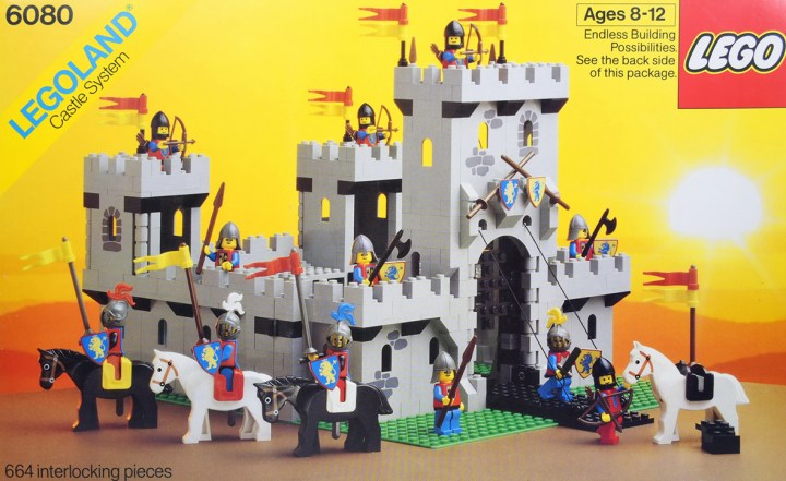 lego castle body