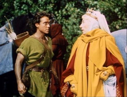 Story of Robin Hood 1952 28 Richard Todd, Martita Hunt.JPG