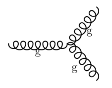 Gluon self-coupling