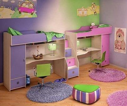 Как обустроить детскую комнату  Информационная статья