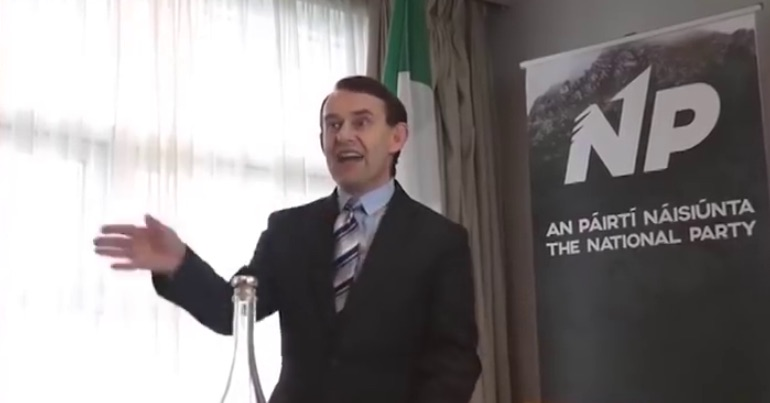 In the mind of Justin Barrett Ireland will be saved by installing a Catholic dictatorship