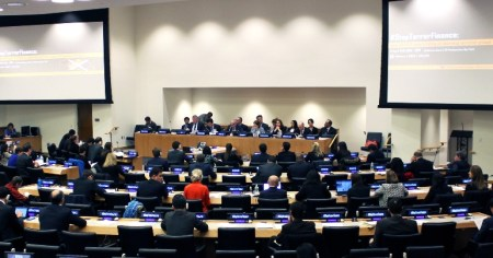 A photo of the UN Counter-Terrorism Committee Executive Directorate during a meeting.