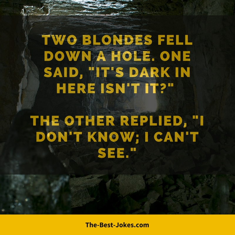Funny Blonde Jokes One Liners