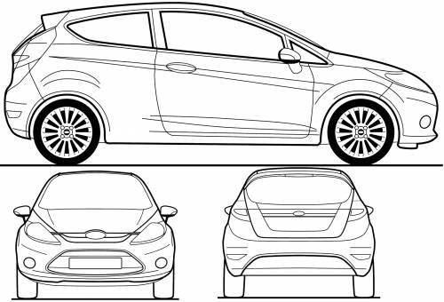 car cor car cur cuk: Ford Fiesta 3 Door