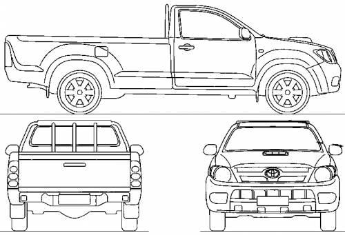 Toyota Hilux Single Cab (2006)