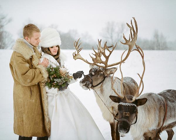 Свадьба зимой: основные рекомендации