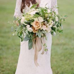 Stil svadby romantichnyi  buket nevesty (30)