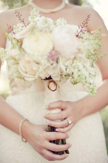 Stil svadby vintag buket nevesty (109)