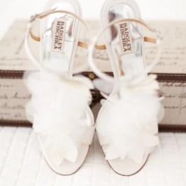 Svadba letom - tufli nevesty (2)