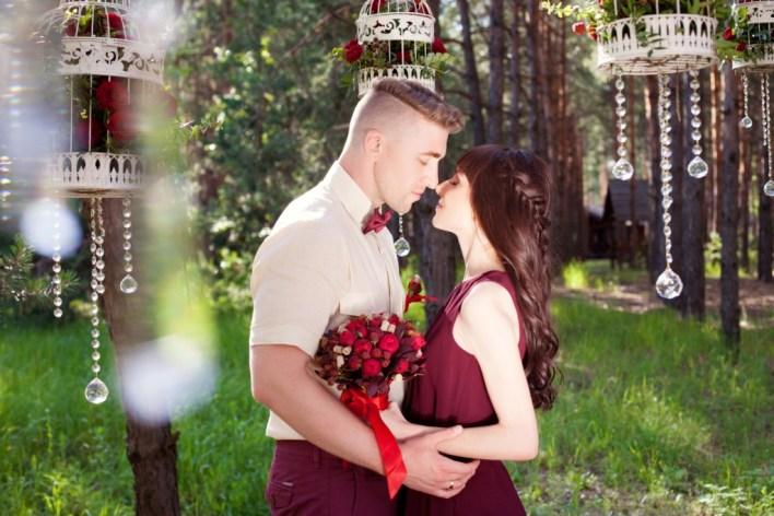 Любовь в насыщенных тонах: свадьба Вячеслава и Ольги