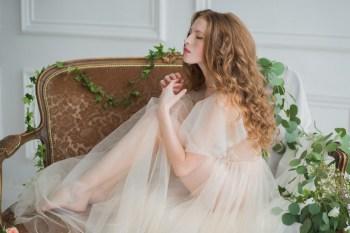 Чувственное утро невесты: фотосессия