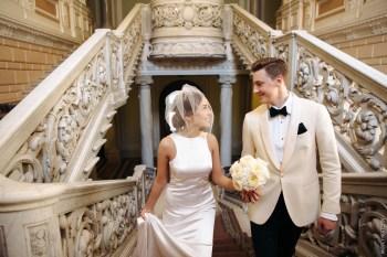 По мотивам Бондианы: свадьба Даниэлы и Виталия