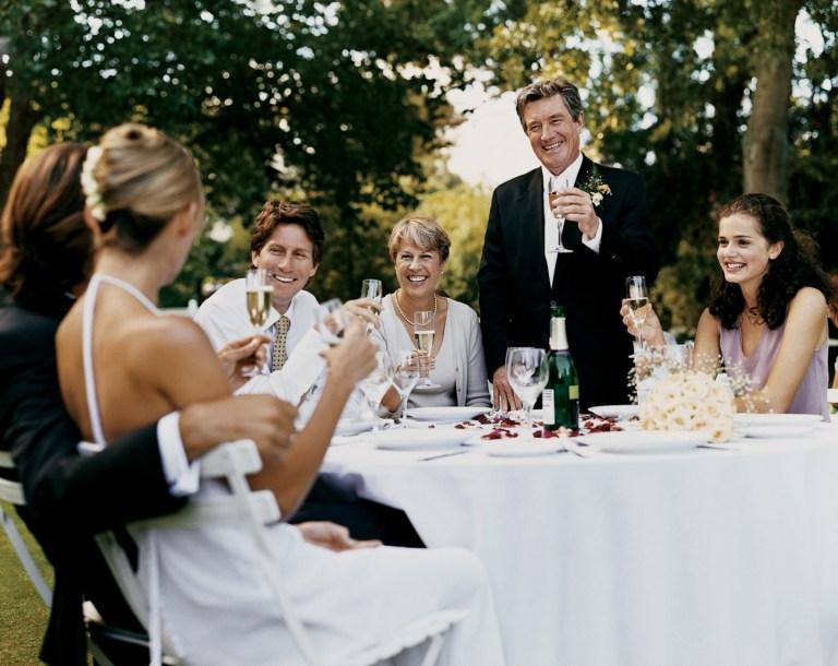 Кого стоит поблагодарить в день свадьбы