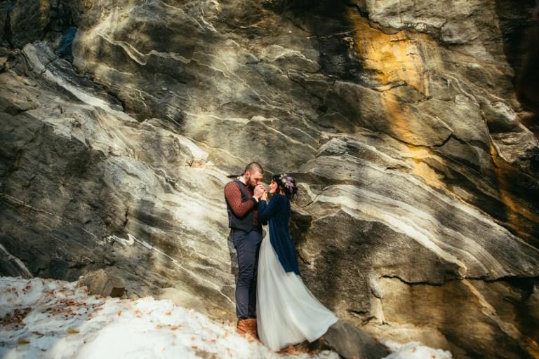 Горы и жгучая страсть: стилизованная фотосессия