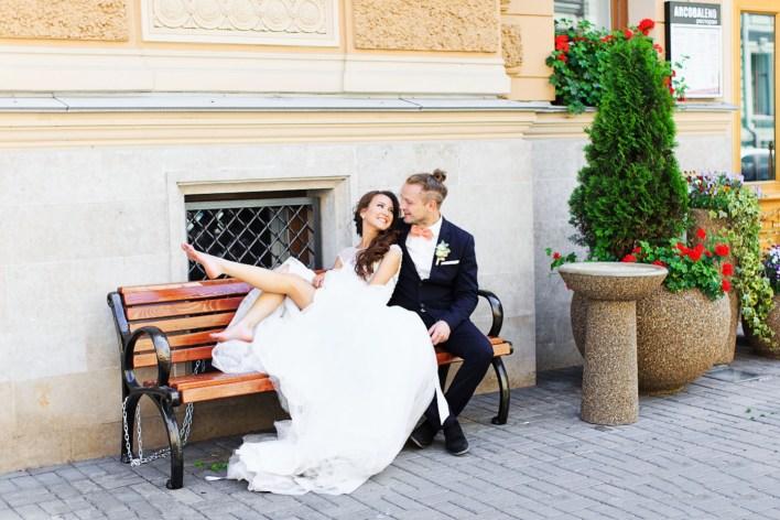 В духе Петербурга: свадьба Антона и Кристины