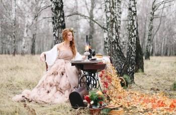 Осенний эпилог: стилизованная фотосессия