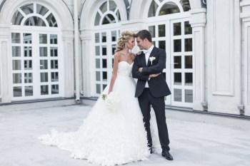 Бабочки любви: свадьба Дениса и Елены