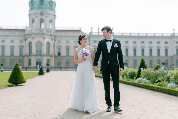 Сдержанная классика: свадьба Лейлы и Филиппа