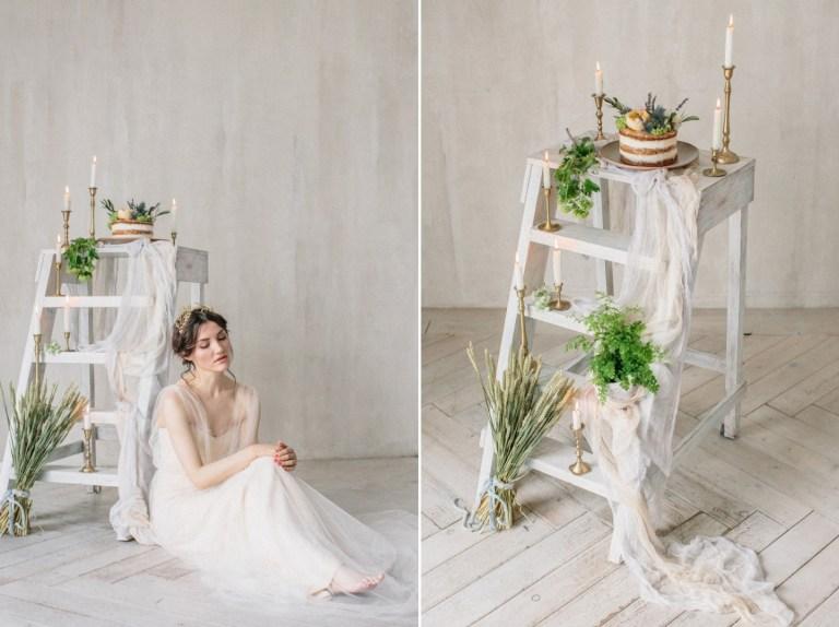 Весенний сад: стилизованная фотосессия утра невесты