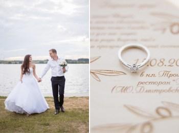 Сила стихии: свадьба Андрея и Анастасии