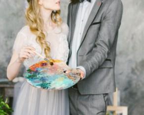 In love with art: стилизованная фотосессия