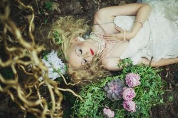 Лесные феи: стилизованная фотосессия