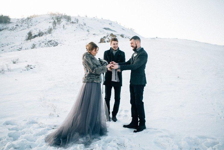 Зимняя свадьба: 20 быстрых советов для пар