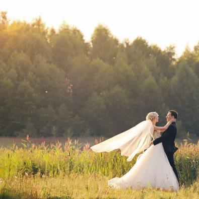 Романтика любви: свадьба Валерии и Вячеслава