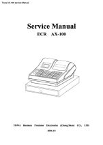 Towa AX-100 transmition protocol specification manual PDF