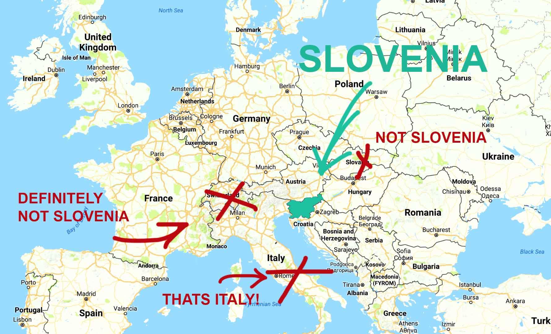 Slovenia Is Europes Best Kept Secret Heres Why - Where is slovenia