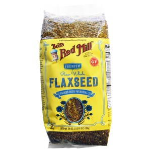 Bob's Red Mill, Raw Whole Flaxseed