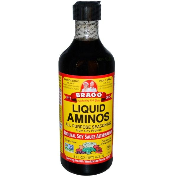 Bragg, Liquid Aminos, Natural Soy Sauce Alternative