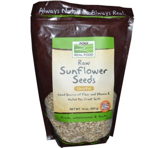 Now Foods, Real Food, Raw Sunflower Seeds, Unsalted