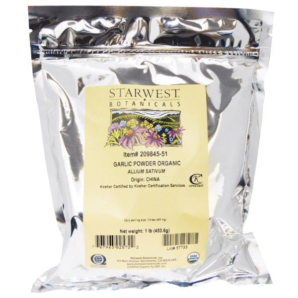 Starwest Botanicals, Organic Garlic Powder