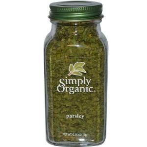 Simply Organic, Parsley