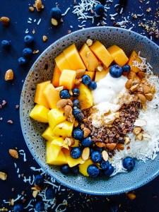 Fruit and Yoghurt Breakfast Bliss Bowl