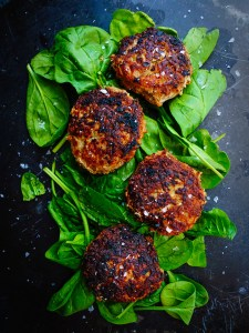 Chorizo and Pork Zucchini Burgers