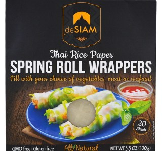 deSIAM, Thai Rice Paper, Spring Roll Wrappers
