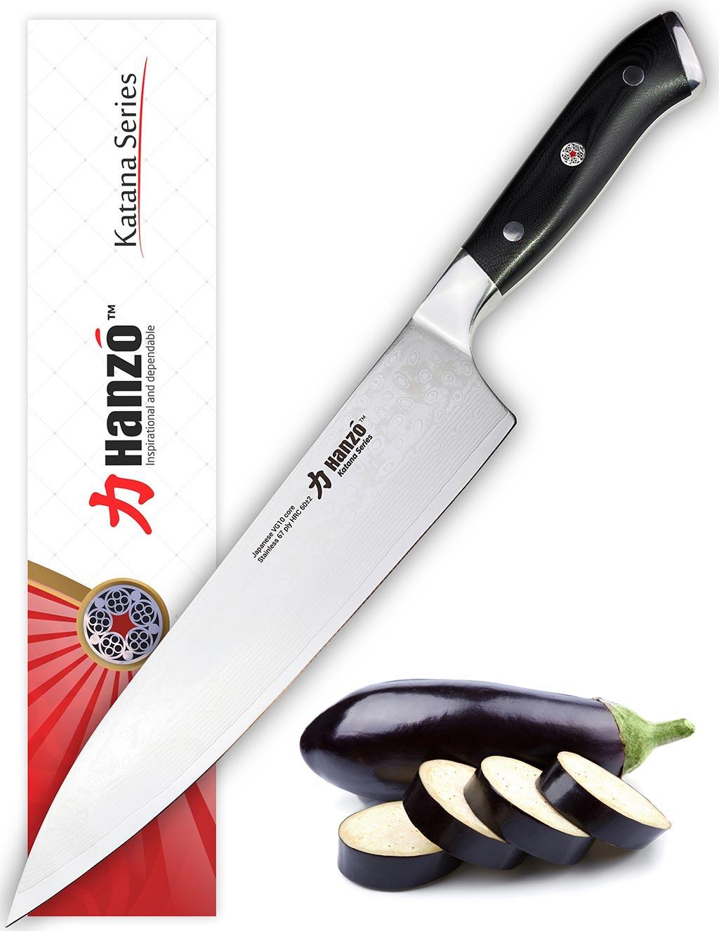 katana kitchen knife fruit curtains hanzo 9 5 chef review