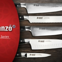 Katana Kitchen Knife Glass Front Cabinets Hanzo 9 5 Chef Review Series