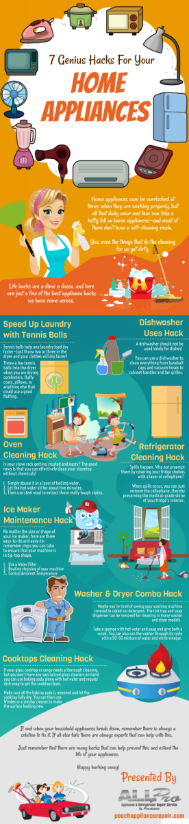 Home appliances hacks