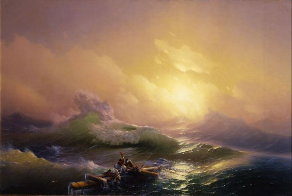 Waves - 10 Amazing Sea Paintings Famous Artists Creative Businessthe Business