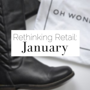 Rethinking Retail: January | via The Curious Button blog