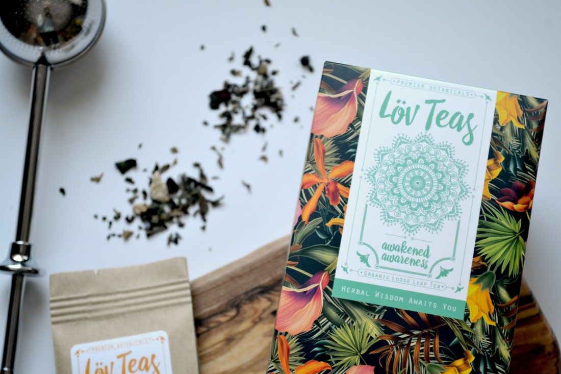 Lov Teas Interview, Review and 20% off! Certified organic loose leaf teas | The Curious Button
