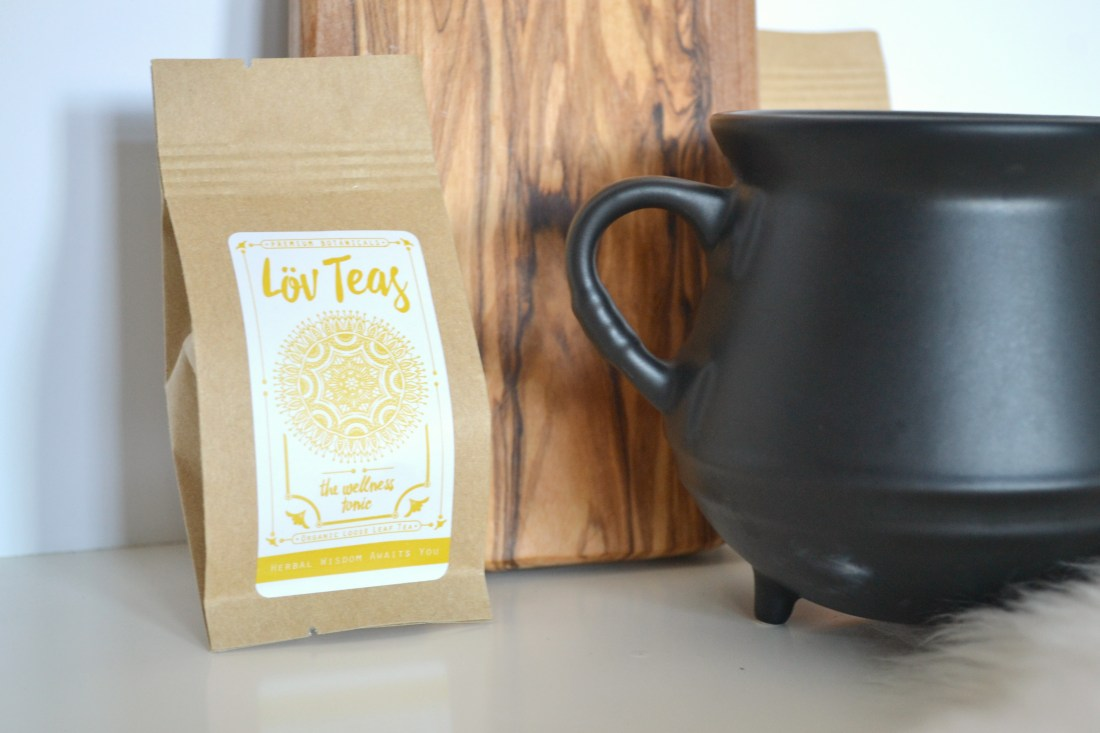 Lov Teas - The Wellness Tonic - certified organic tea review | The Curious Button